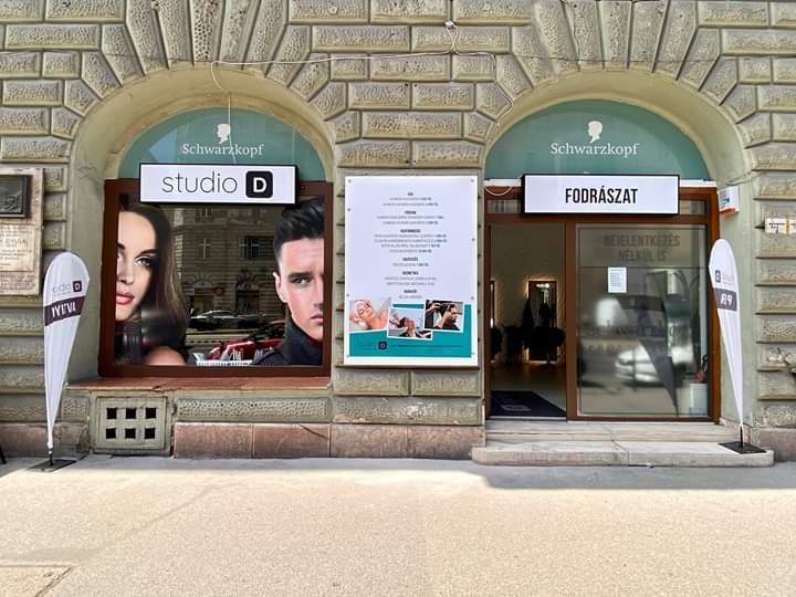 Studio D Ferenc körút - Fodrászat