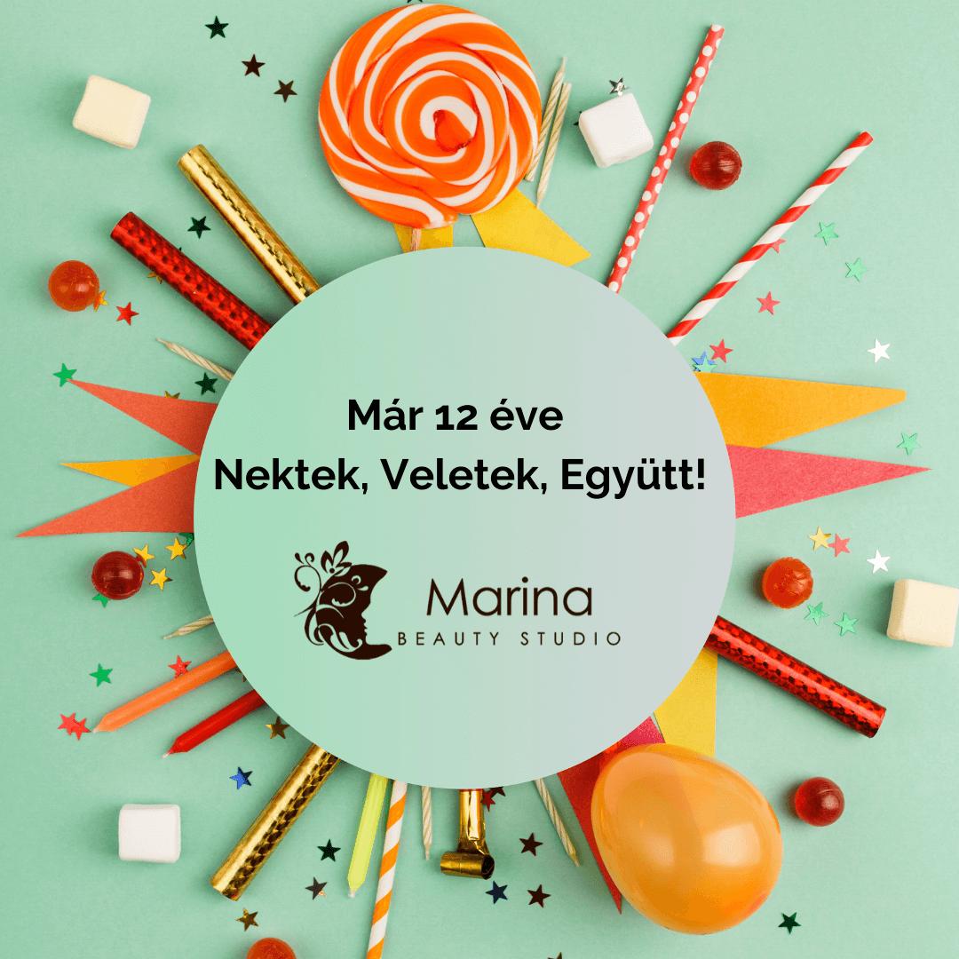 Marina Beauty Studio - Kozmetika, Testkezelés, Smink, Szempilla-hosszabbítás, Fodrászat, Kézápolás, Lábápolás, Masszázs