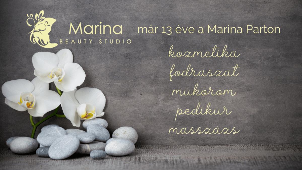Marina Beauty Studio - Kozmetika, Testkezelés, Szempilla-hosszabbítás, Fodrászat, Kézápolás, Lábápolás, Masszázs